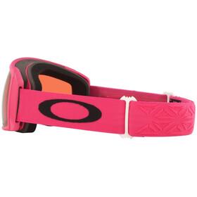 Oakley Flight Tracker XS Gafas de Nieve, rojo/rosa